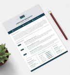 Template 74331 Resume Templates