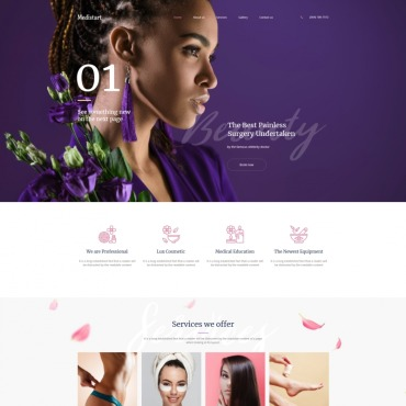 Moto CMS HTML Template # 74486