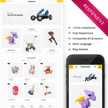 OpenCart Template # 74520