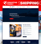 Shipping Landing Page Template