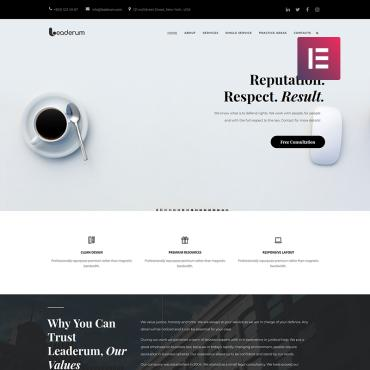 WordPress Theme # 74801