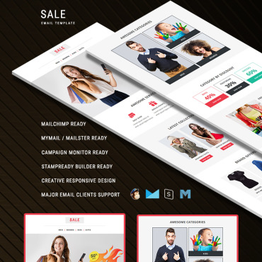 Newsletter Template # 75221