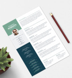 Template 75755 Resume Templates