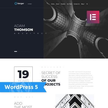 WordPress Theme # 75770