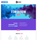 Download Template Monster HTML Template 75860