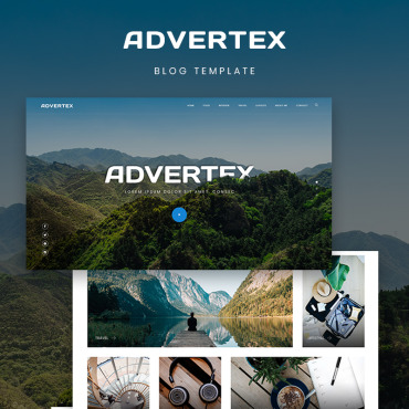 WordPress Theme # 75955