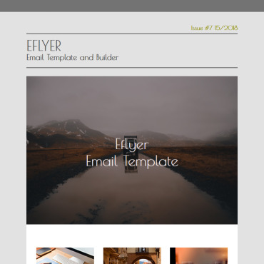 Newsletter Template # 75958