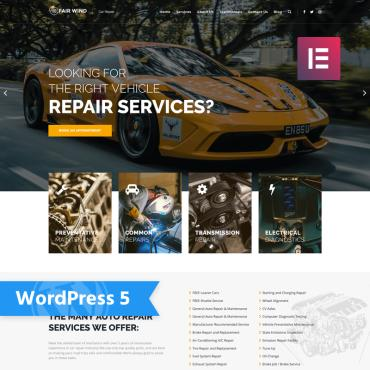 WordPress Theme # 76007