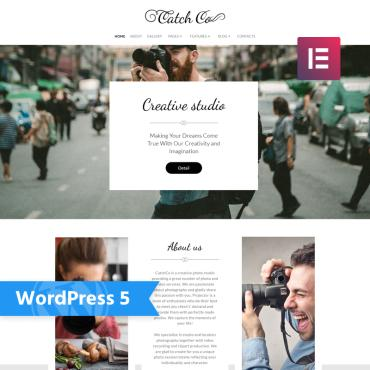 WordPress Theme # 76017