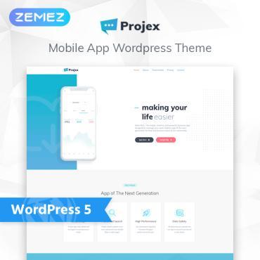 WordPress Theme # 76027