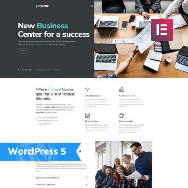WordPress Theme # 76028