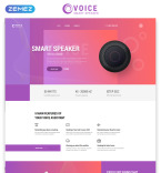 Template 76260 Landing Page Templates