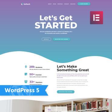 WordPress Theme # 76295