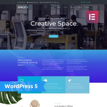 WordPress Theme # 76334