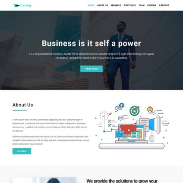 Landing Page Template # 76386