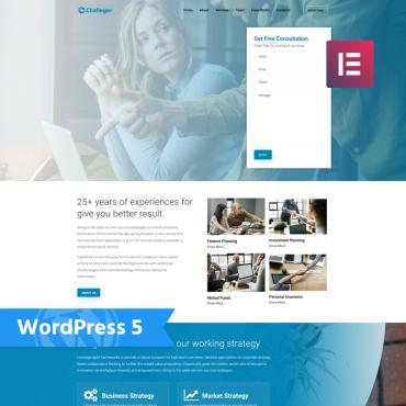 WordPress Theme # 76454