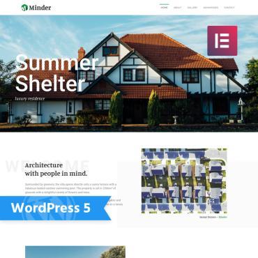 WordPress Theme # 76477