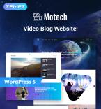 Download Template Monster WordPress Theme 76543
