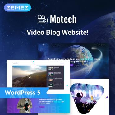 WordPress Theme # 76543