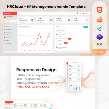 Admin Template # 76610