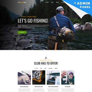 Landing Page Template # 76632