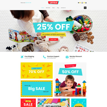 MotoCMS Ecommerce Template # 76633