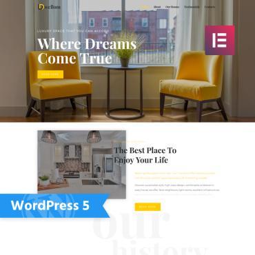 WordPress Theme # 76646