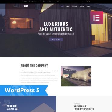 WordPress Theme # 76647
