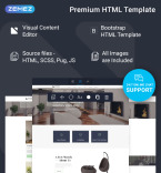 Download Template Monster Website Template 76650
