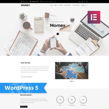WordPress Theme # 76676