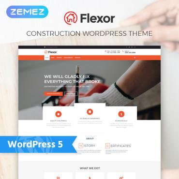 WordPress Theme # 76760