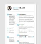 Template 76792 Resume Templates