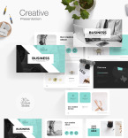 Template 76796 PowerPoint Templates