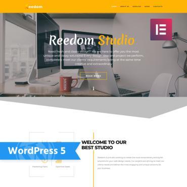 WordPress Theme # 76837