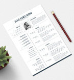 Template 77150 Resume Templates