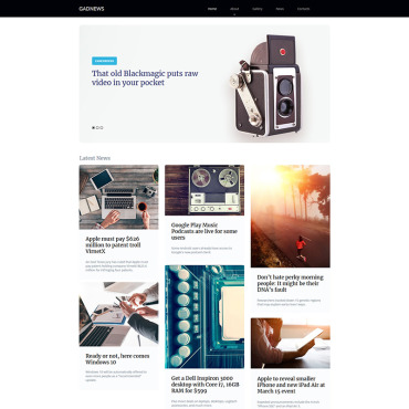 Moto CMS HTML Template # 77218