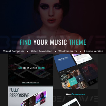 WordPress Theme # 77238