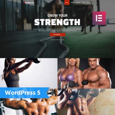 WordPress Theme # 77841