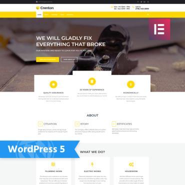 WordPress Theme # 77913