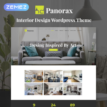 WordPress Theme # 77914