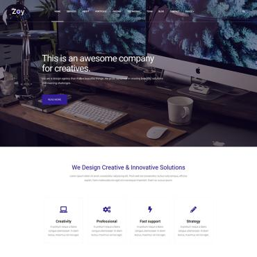 Landing Page Template # 77918