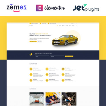 WordPress Theme # 77920