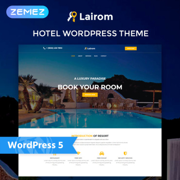 WordPress Theme # 77972