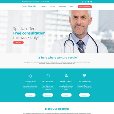 Moto CMS HTML Template # 78039