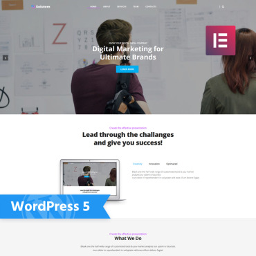 WordPress Theme # 78052
