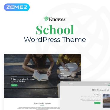 WordPress Theme # 78084