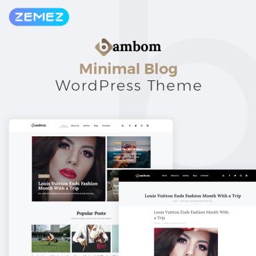 WordPress Theme # 78219