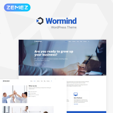 WordPress Theme # 78403