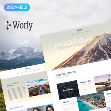 WordPress Theme # 78481