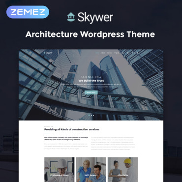 WordPress Theme # 78587